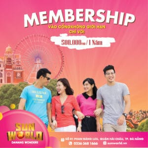 VND500,000/YEAR AND ENJOY PRIVILEGES OF MEMBERSHIP