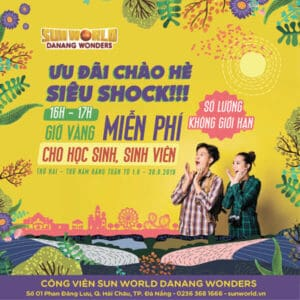"""HAPPY HOURS WITH FREE PLAY"" AT SUNWORLD DA NANG WONDERS"