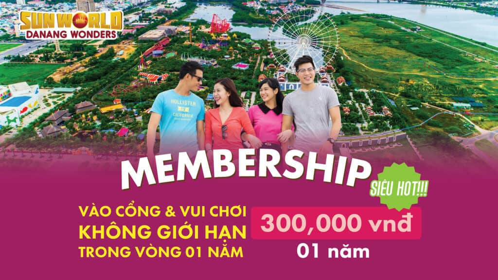 Thẻ Membership tại Sun World Danang Wonders