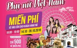 Sun World Danang Wonders offers 3,500 entrance tickets to female visitors on Vietnamese Women's Day